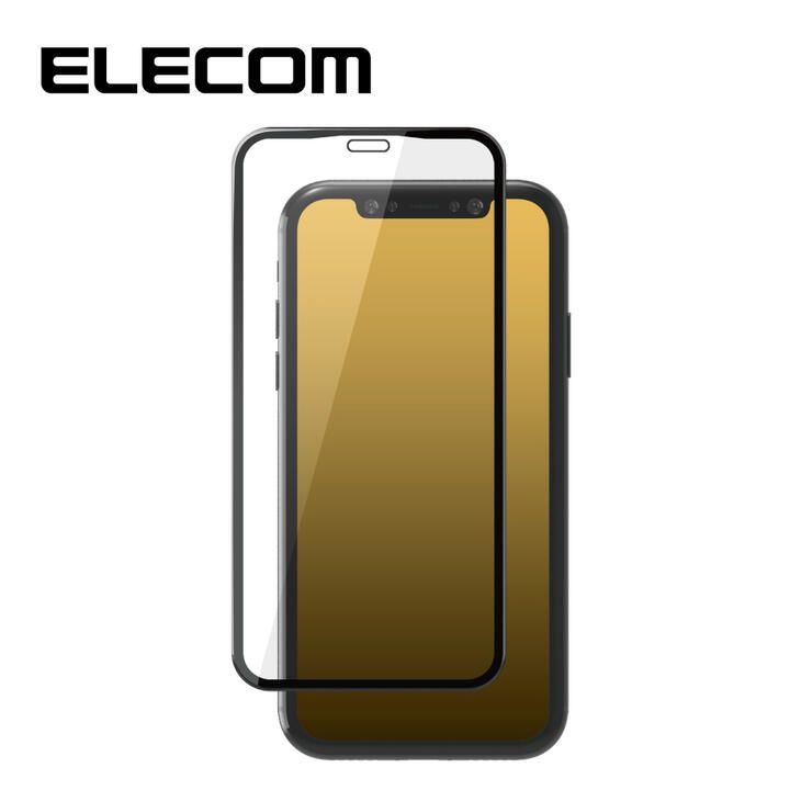 iPhone 11 Pro/XS フィルム エレコム 超強化 強化ガラス硬度9H 全面 指紋防止 iPhone 11 Pro/X/XS_0