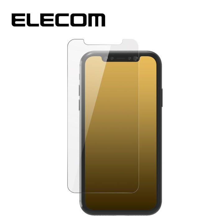 iPhone XS/X フィルム エレコム 強化ガラス 9H 指紋防止 Dragontrail iPhone 11 Pro/X/XS_0