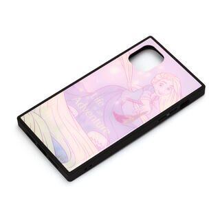 iPhone 11 ケース ディズニー ガラスハイブリッドケース ラプンツェル iPhone 11