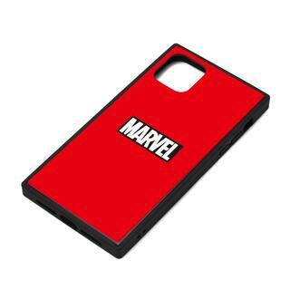 iPhone 11 ケース MARVEL ガラスハイブリッドケース ロゴ/レッド iPhone 11