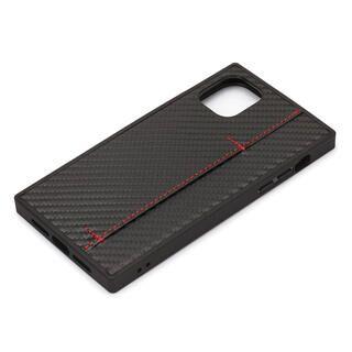 iPhone 11 ケース テクスチャーハイブリッドケース カーボン調ブラック iPhone 11