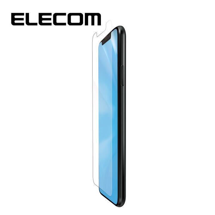 iPhone 11/XR フィルム エレコム 液晶保護フィルム シリコン ブルーライトカット 高光沢 iPhone 11/XR_0