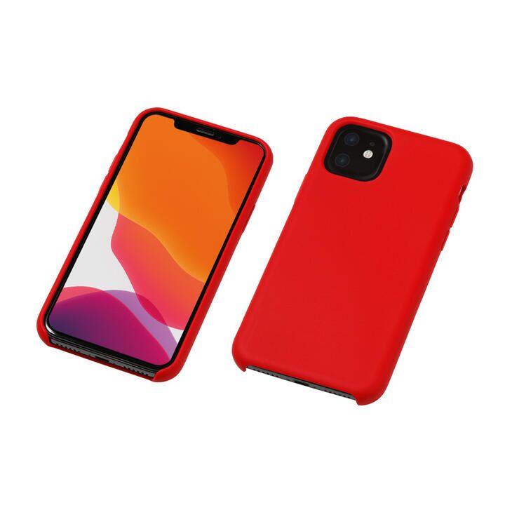 iPhone 11 ケース CRYTONE Hybrid Silicone Hard Case ハイブリッドケース レッド iPhone 11_0
