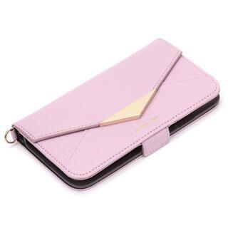 iPhone 11 Pro Max ケース ダブルフリップカバー レター型 パープル iPhone 11 Pro Max【9月中旬】