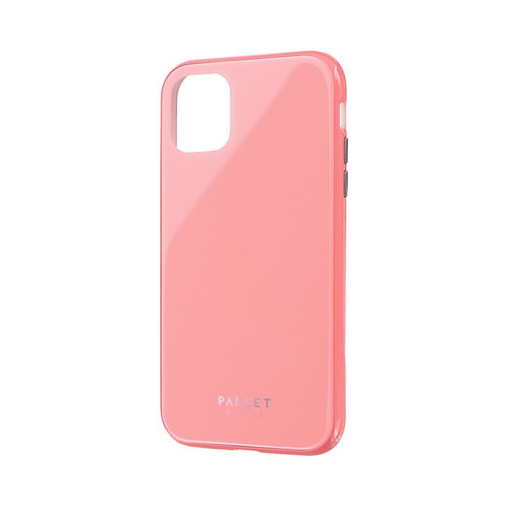 iPhone 11 ケース ガラスハイブリッドケース「SHELL GLASS COLOR」 ピンク iPhone 11_0