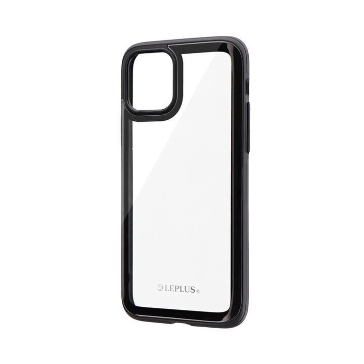 背面3Dガラスシェルケース「SHELL GLASS Round」 ブラック iPhone 11 Pro【9月中旬】_0