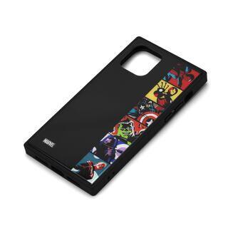 iPhone 11 Pro ケース MARVEL ガラスハイブリッドケース アベンジャーズ/ポップアート iPhone 11 Pro