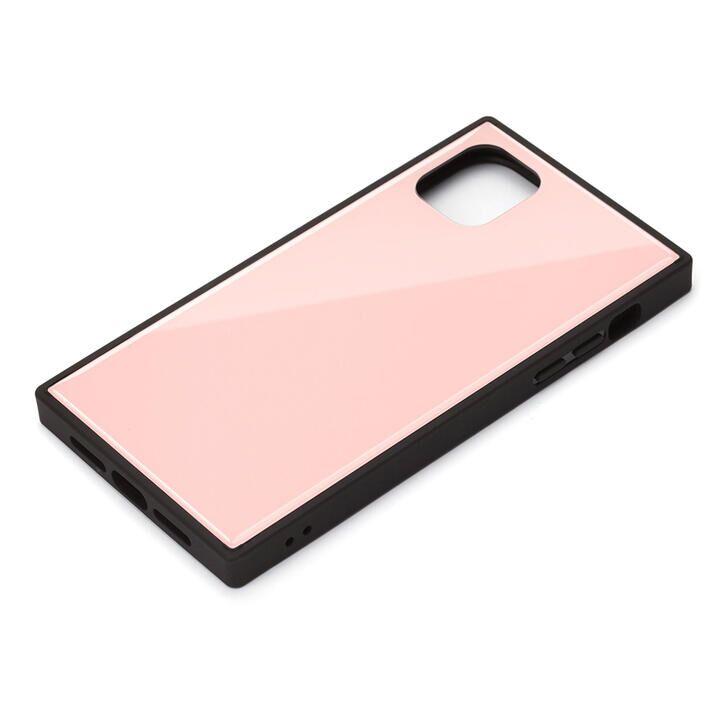 iPhone 11 Pro Max ケース ガラスハイブリッドケース ピンク iPhone 11 Pro Max_0