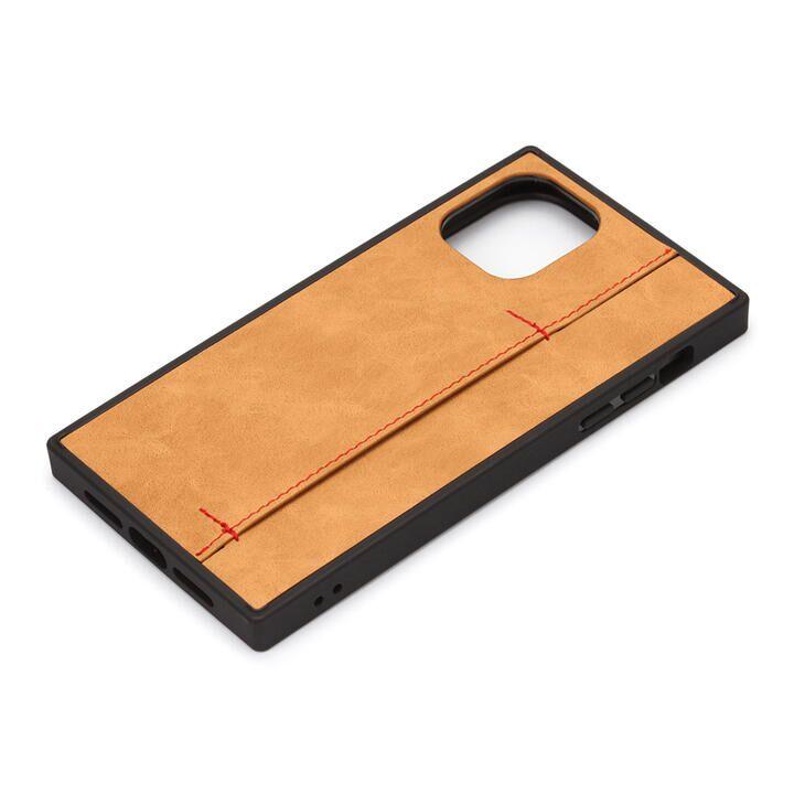 iPhone 11 Pro ケース テクスチャーハイブリッドケース オイルペーパー調キャメル iPhone 11 Pro_0