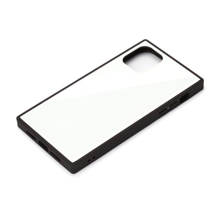 ガラスハイブリッドケース ホワイト iPhone 11 Pro_0