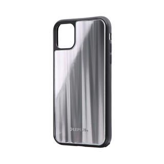 iPhone 11 ケース 背面ガラスシェルケース「SHELL GLASS」 シルバー iPhone 11【9月中旬】