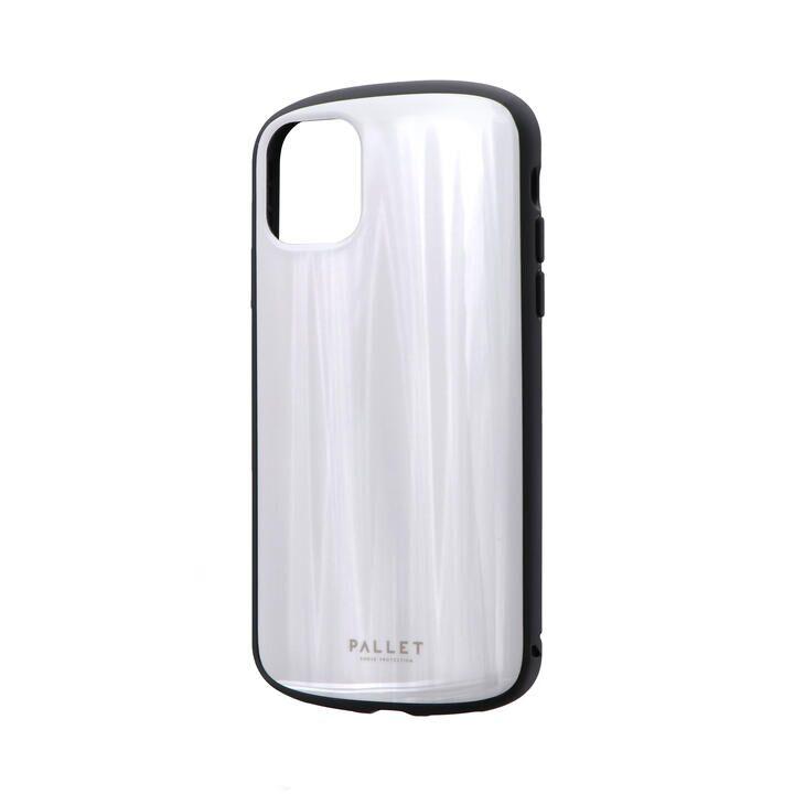 iPhone 11 ケース 超軽量・極薄・耐衝撃ハイブリッドケース「PALLET METAL」 ホワイト iPhone 11_0