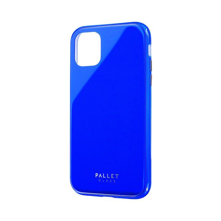 iPhone 11 ケース ガラスハイブリッドケース「SHELL GLASS COLOR」 ブルー iPhone 11_0