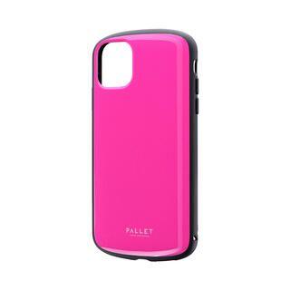 iPhone 11 ケース 超軽量・極薄・耐衝撃ハイブリッドケース「PALLET AIR」 ホットピンク iPhone 11