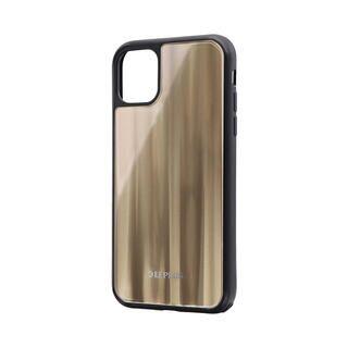 iPhone 11 ケース 背面ガラスシェルケース「SHELL GLASS」 ゴールド iPhone 11【9月中旬】