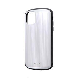 iPhone 11 ケース 超軽量・極薄・耐衝撃ハイブリッドケース「PALLET METAL」 ホワイト iPhone 11