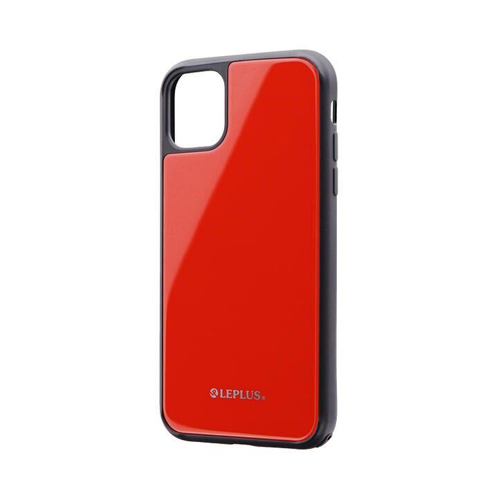 iPhone 11 ケース 背面ガラスシェルケース「SHELL GLASS」 レッド iPhone 11_0