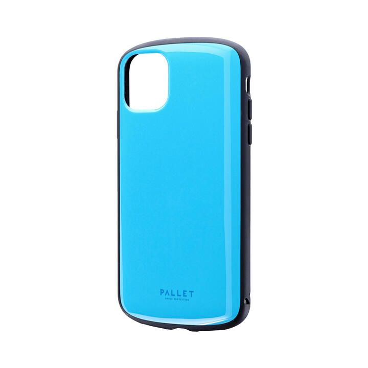 iPhone 11 ケース 超軽量・極薄・耐衝撃ハイブリッドケース「PALLET AIR」 スカイブルー iPhone 11_0