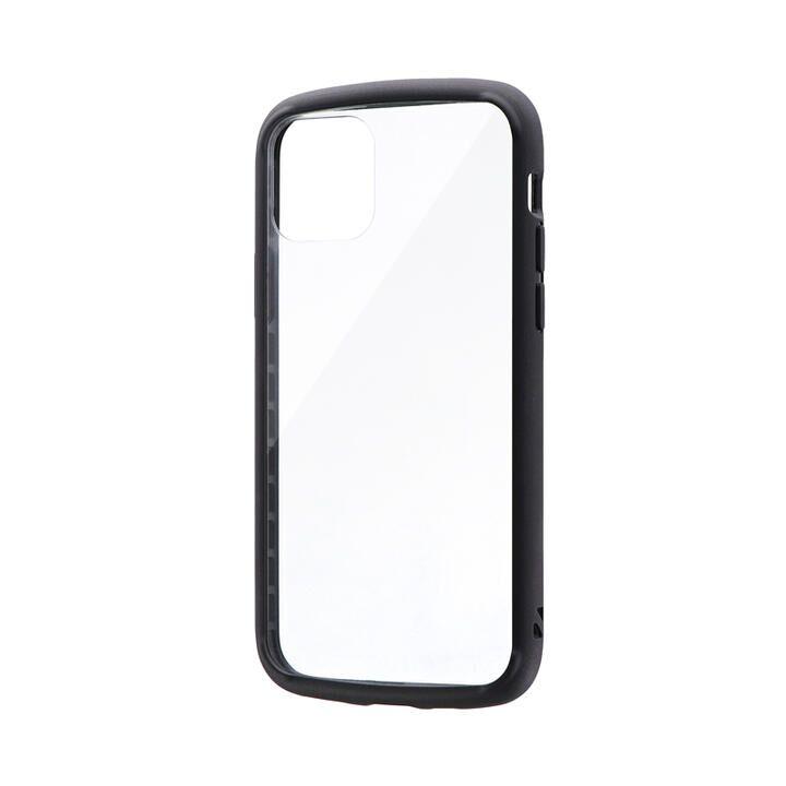 耐衝撃ガラスハイブリッドケース「PALLET GLASS」 ブラック iPhone 11 Pro【9月中旬】_0