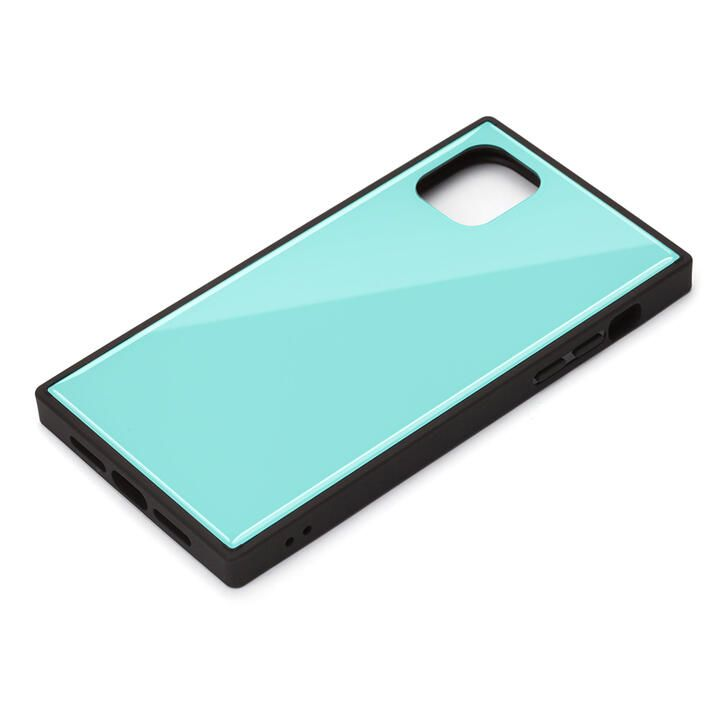 iPhone 11 Pro Max ケース ガラスハイブリッドケース ブルー iPhone 11 Pro Max_0