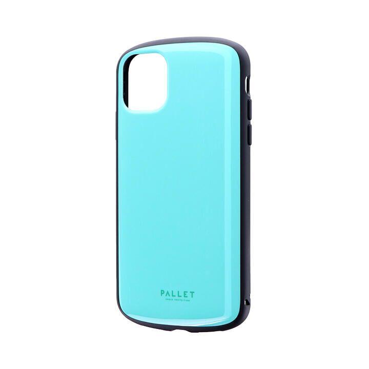 iPhone 11 ケース 超軽量・極薄・耐衝撃ハイブリッドケース「PALLET AIR」 ミントグリーン iPhone 11_0