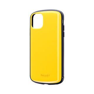 iPhone 11 ケース 超軽量・極薄・耐衝撃ハイブリッドケース「PALLET AIR」 イエロー iPhone 11