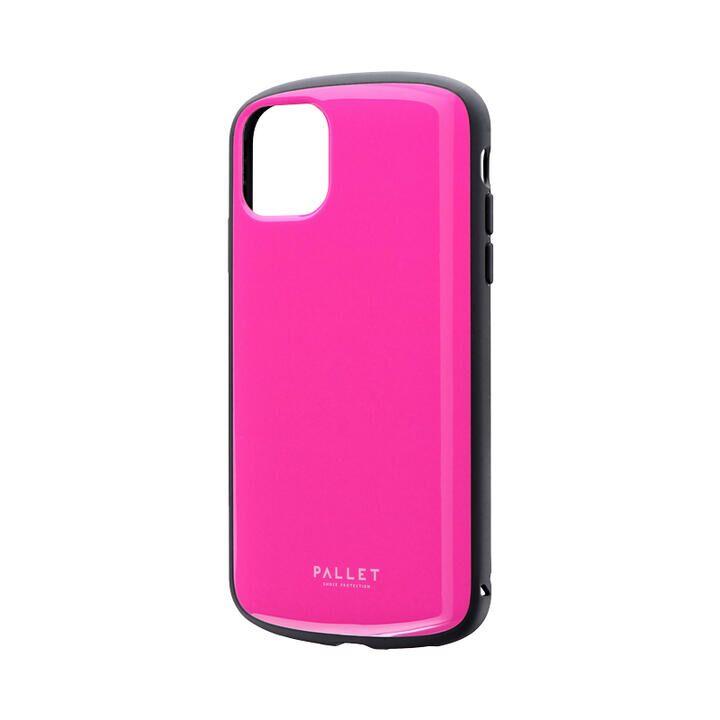 iPhone 11 ケース 超軽量・極薄・耐衝撃ハイブリッドケース「PALLET AIR」 ホットピンク iPhone 11_0
