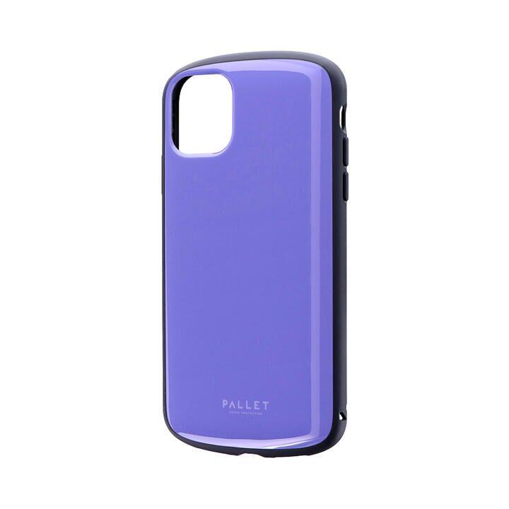 超軽量・極薄・耐衝撃ハイブリッドケース「PALLET AIR」 パープル iPhone 11_0