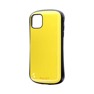 iPhone 11 ケース 耐衝撃ハイブリッドケース「PALLET」 イエロー iPhone 11【9月中旬】
