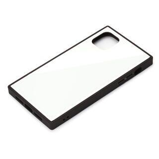 iPhone 11 Pro Max ケース ガラスハイブリッドケース ホワイト iPhone 11 Pro Max