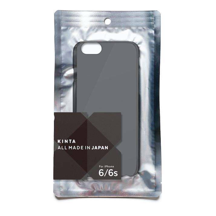 iPhone6s ケース エラストマー クリアケース KINTA ブラック iPhone 6s/6_0