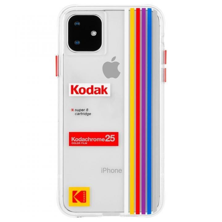 iPhone 11 ケース Case-Mate KODAK ケース Clear Striped iPhone 11_0
