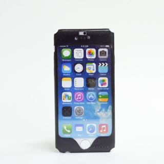 【iPhone6ケース】本革一枚で包み込むケース mobakawa カンガルー ブラック iPhone6ケース_1