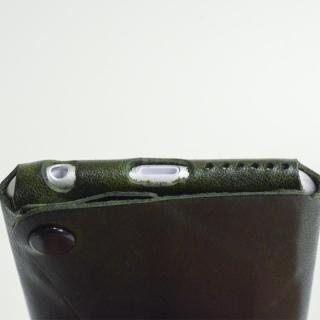 【iPhone6ケース】本革一枚で包み込むケース mobakawa カンガルー ブラック iPhone6ケース_5