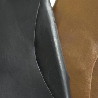【iPhone6ケース】本革一枚で包み込むケース mobakawa カンガルー ブラック iPhone6ケース_6