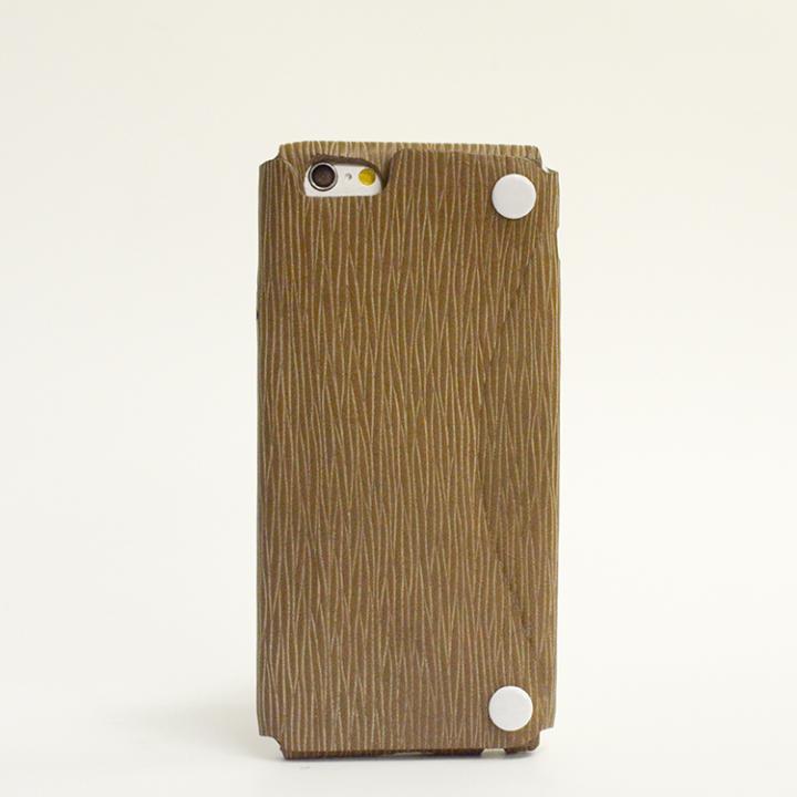 本革一枚で包み込むケース mobakawa カウレザー アンティークブラウン iPhone 6ケース