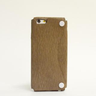 【iPhone6ケース】本革一枚で包み込むケース mobakawa カウレザー アンティークブラウン iPhone 6ケース