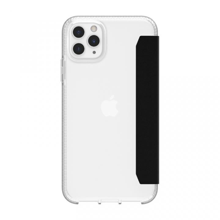 サバイバー クリアウォレット 手帳型ケース クリアブラック iPhone 11 Pro Max_0
