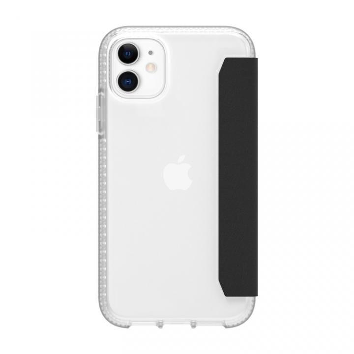 サバイバー クリアウォレット 手帳型ケース クリアブラック iPhone 11_0