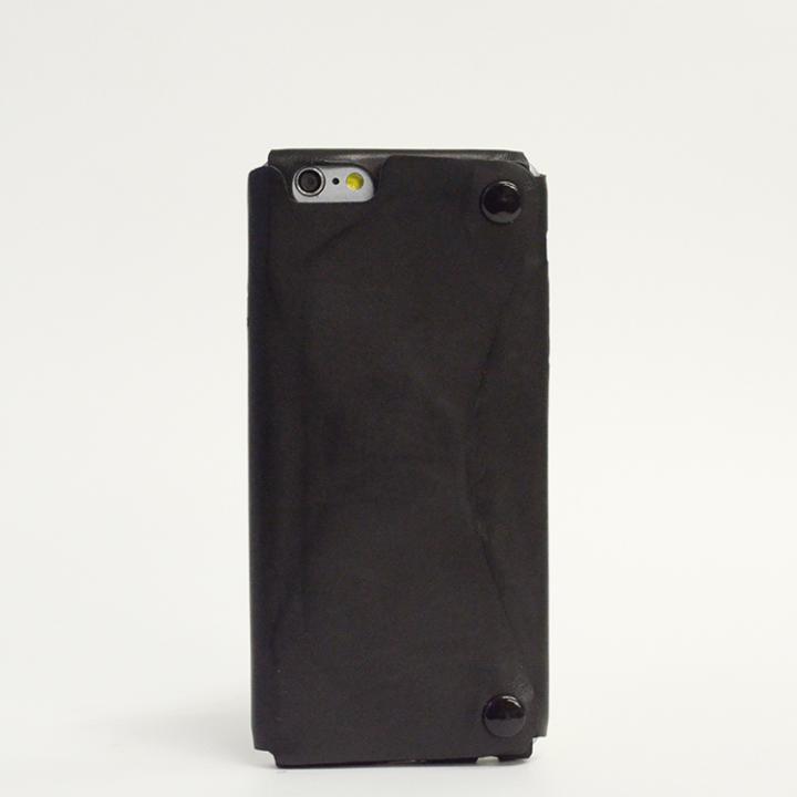 【iPhone6ケース】本革一枚で包み込むケース mobakawa カーフレザー ブラック iPhone 6ケース_0