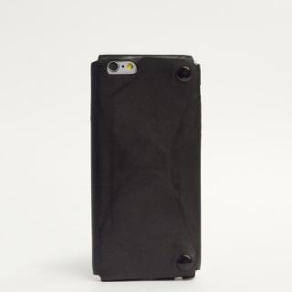 本革一枚で包み込むケース mobakawa カーフレザー ブラック iPhone 6ケース