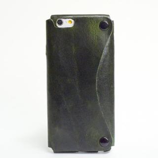 【iPhone6ケース】本革一枚で包み込むケース mobakawa カウレザー エキゾチックオレンジ iPhone 6ケース_4