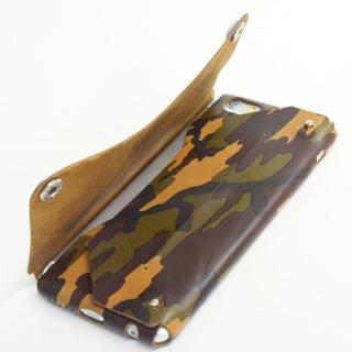 【iPhone6ケース】本革一枚で包み込むケース mobakawa カウレザー エキゾチックオレンジ iPhone 6ケース_8
