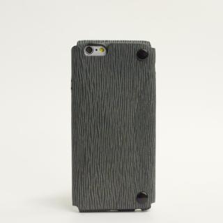 本革一枚で包み込むケース mobakawa カウレザー アンティークグレー iPhone 6s/6ケース