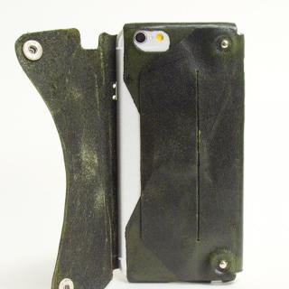 【iPhone6ケース】本革一枚で包み込むケース mobakawa イタリアンホースレザー ダークブラウン iPhone 6ケース_2