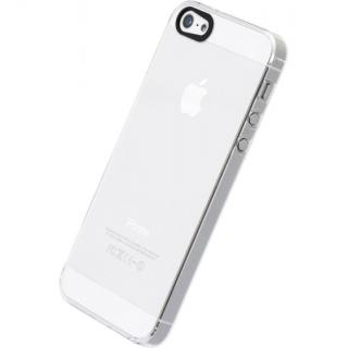 【iPhone SE/5s/5ケース】エアージャケットセット  iPhone SE/5s/5(クリア)