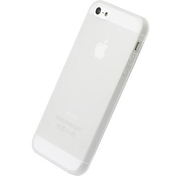 【iPhone SE/5s/5ケース】シリコーンジャケットセット  iPhone 5(ナチュラル)_0