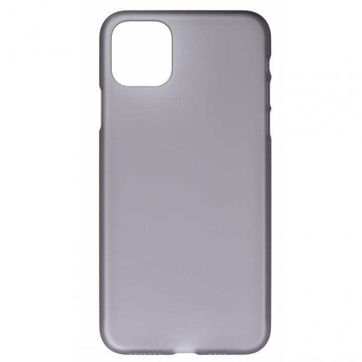 iPhone 11 Pro Max ケース パワーサポート Air Jacket スモークマット iPhone 11 Pro Max_0