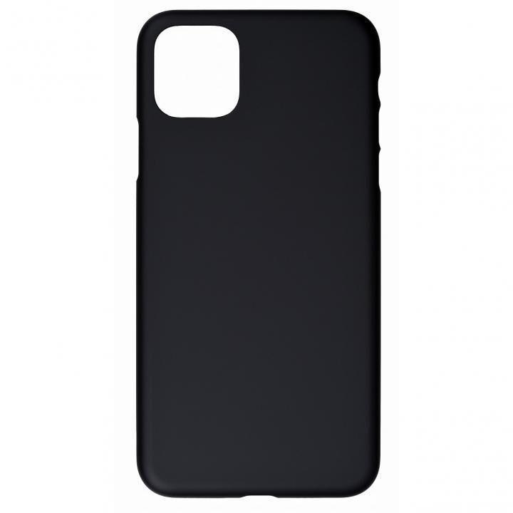iPhone 11 Pro Max ケース パワーサポート Air Jacket ラバーブラック iPhone 11 Pro Max_0
