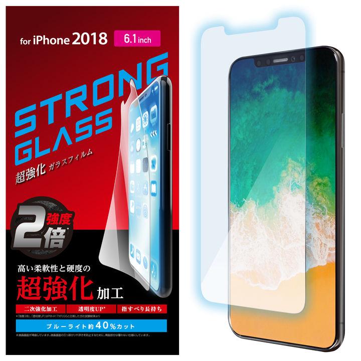 iPhone XR フィルム 強化ガラス 超強化/ブルーライトカット iPhone XR_0